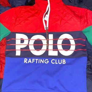 Polo Hi-Tech half zip